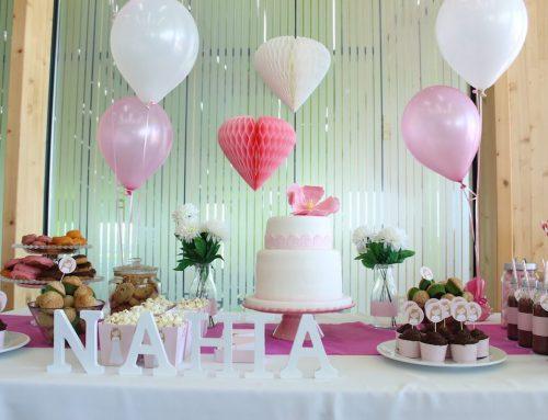 Mesa dulce para la Primera Comunión de Nahia